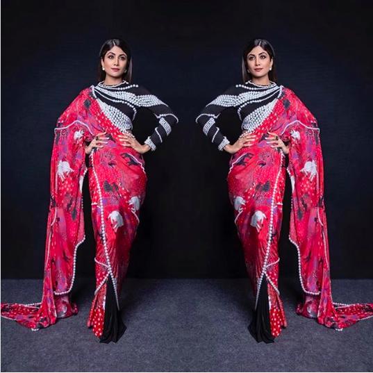 Shilpa Shetty Designer Sarees