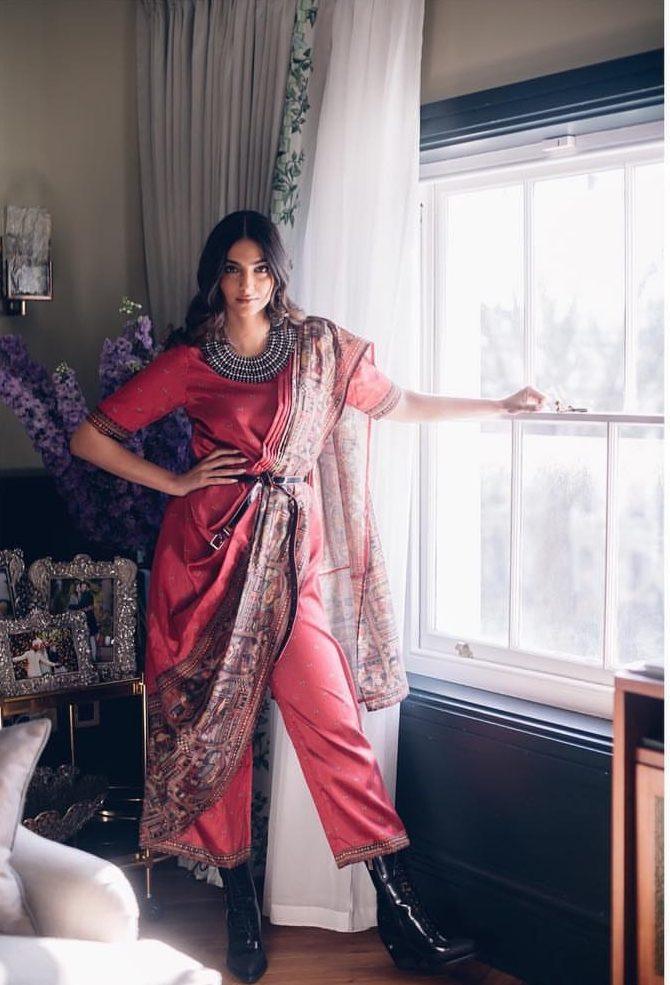 Latest Saree Trends For Weddings, Sonam Kapoor