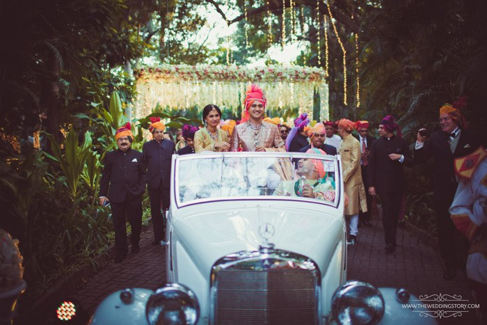 groom entry