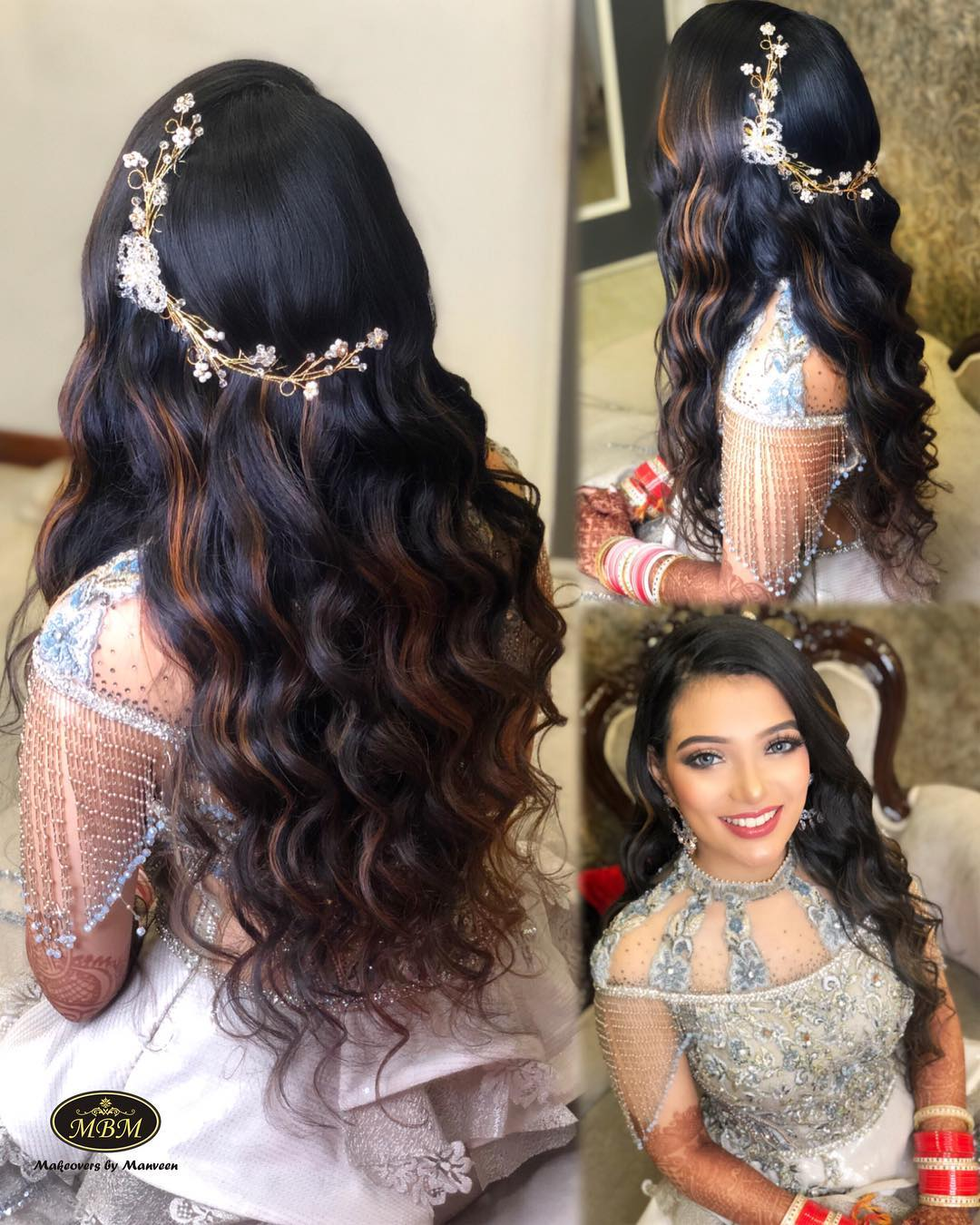 These Open Hairstyle For Bridal Hairdo Will Make You Ditch Buns