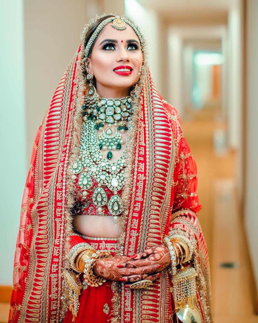 Deepika Padukone's bridal look