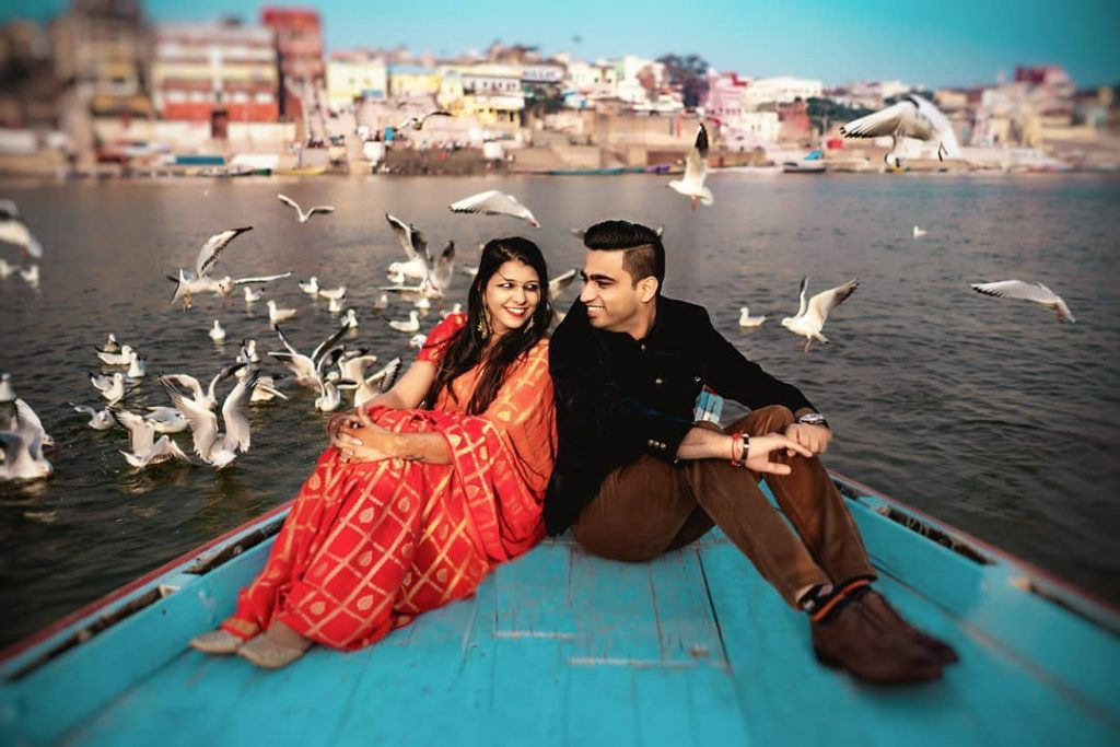 pre wedding shoot in varanasi