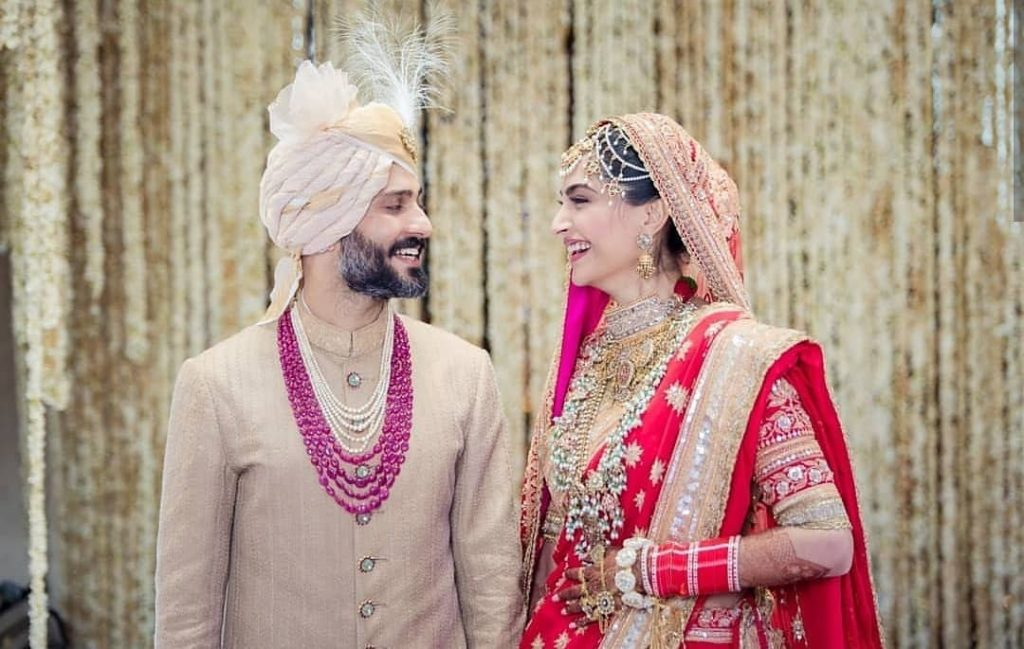 sonam kapoor wedding,sikh groom pagri ideas