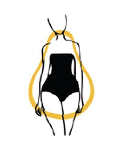 body type, pear shape