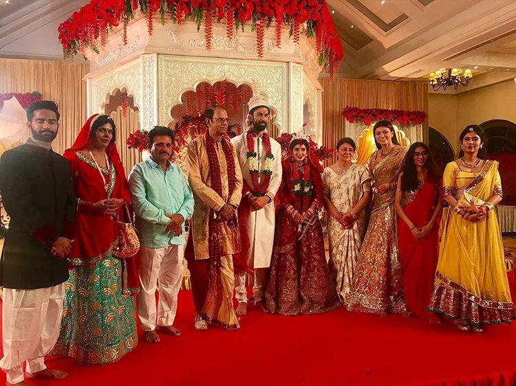 Rajeev Sen's wedding