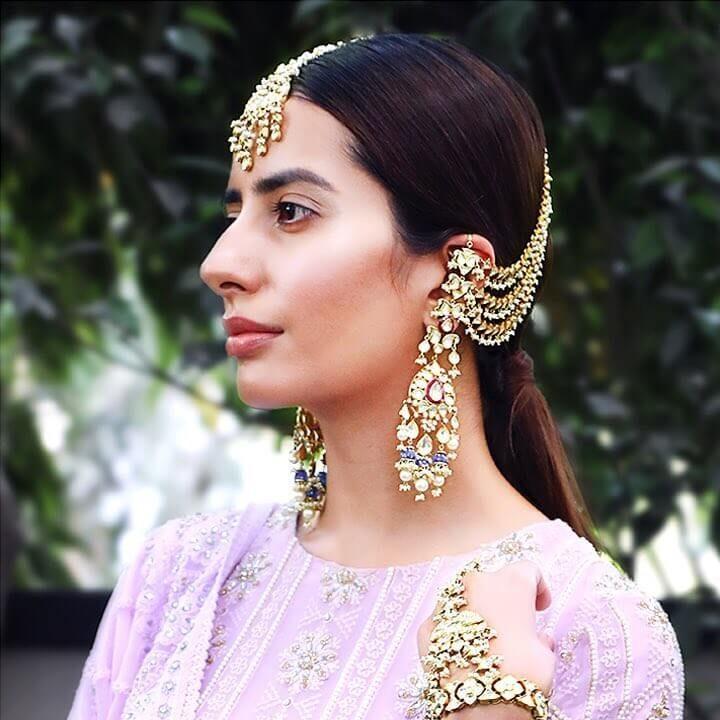 Gold Strings,Bahubali Earring