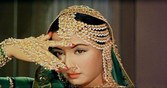 Meena Kumari,Heavy Waterfall Earring