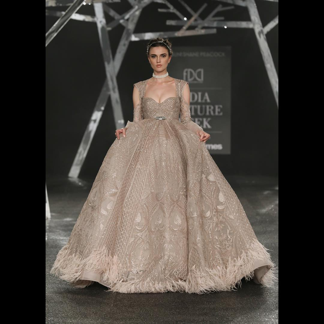 engagement gown