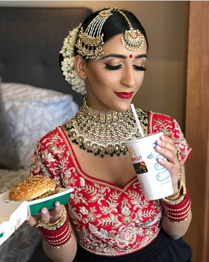 wedding day, bridal makeup