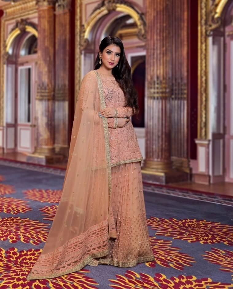 bridal shopping in Chandni chowk,sharara