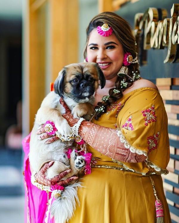 bridal portrait, Sikh bride