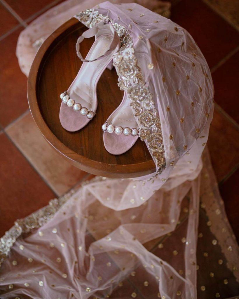latest bridal sandals