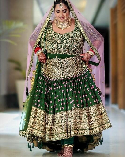 Sikh bridal portrait