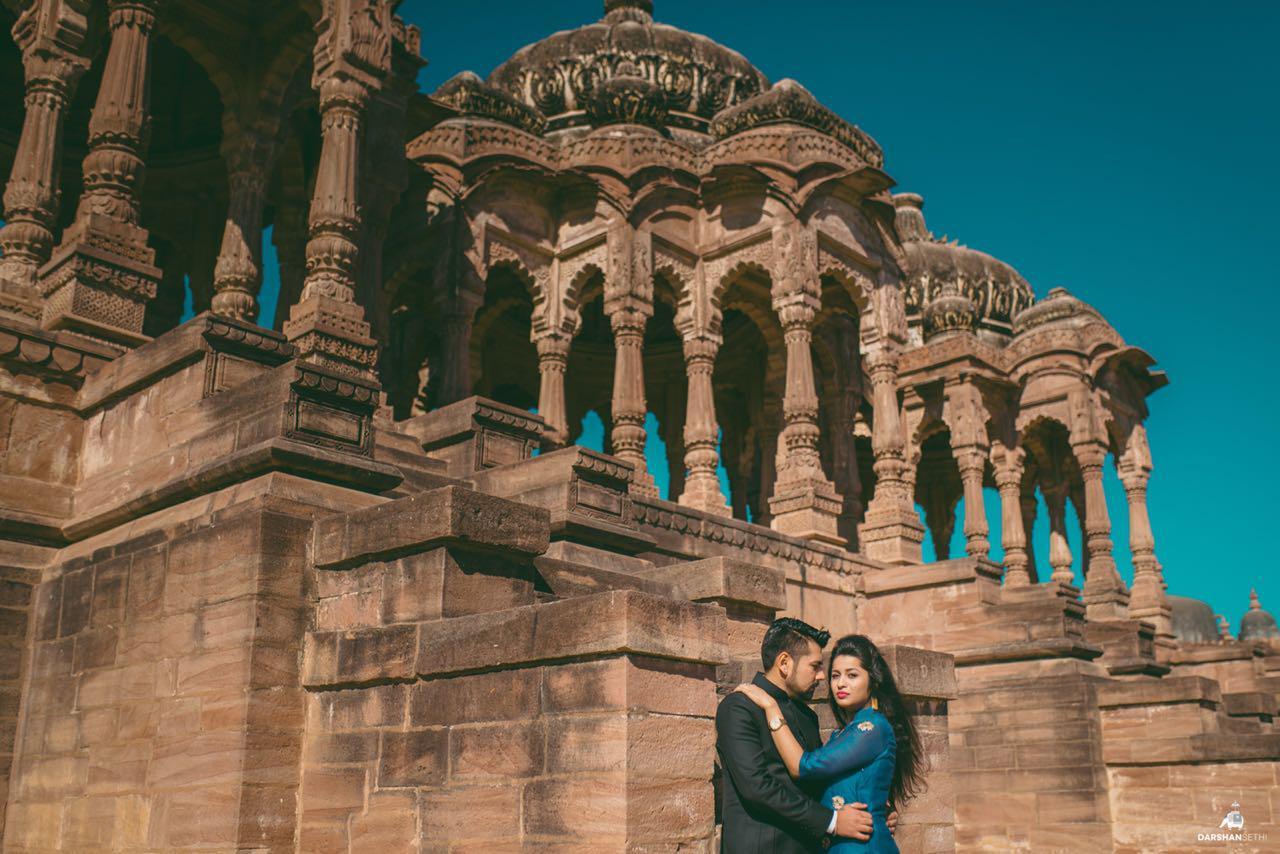 Pre wedding shoot in Rajasthan