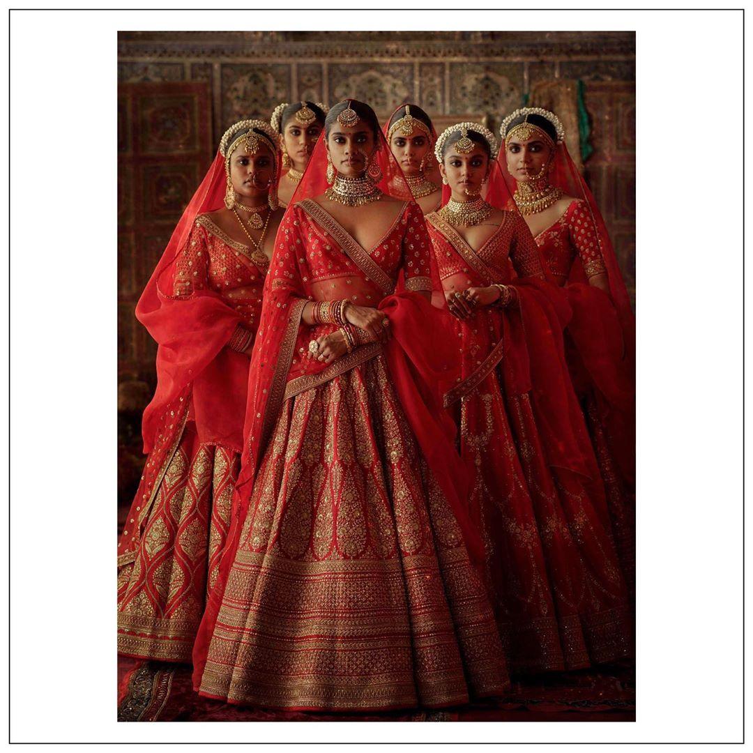 Sabyasachi winter bridal collection