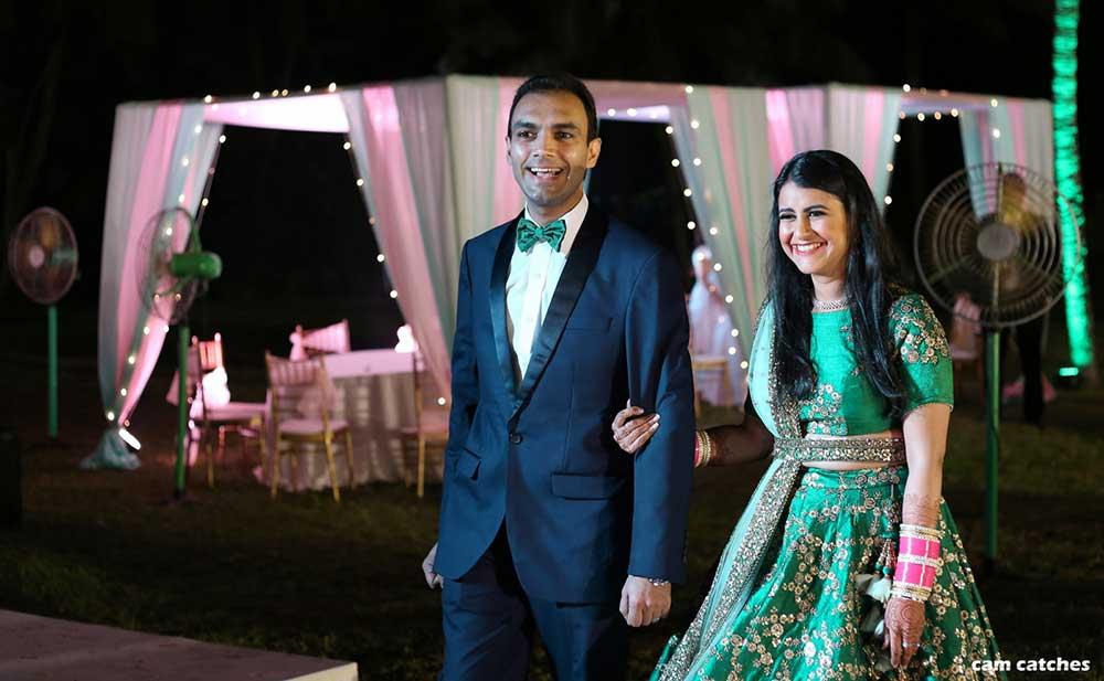 belted bridal lehengas