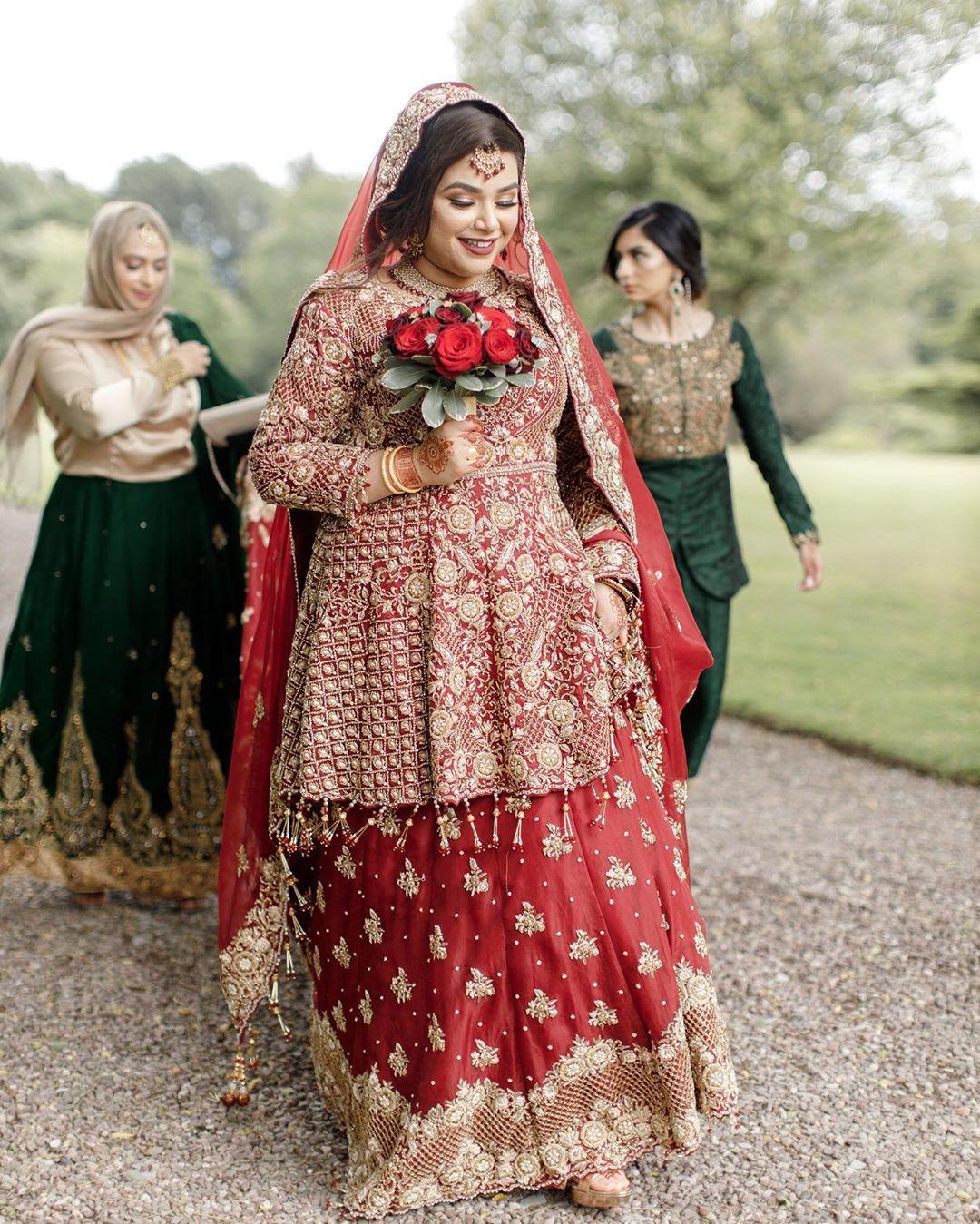 Muslim bridal outfits
