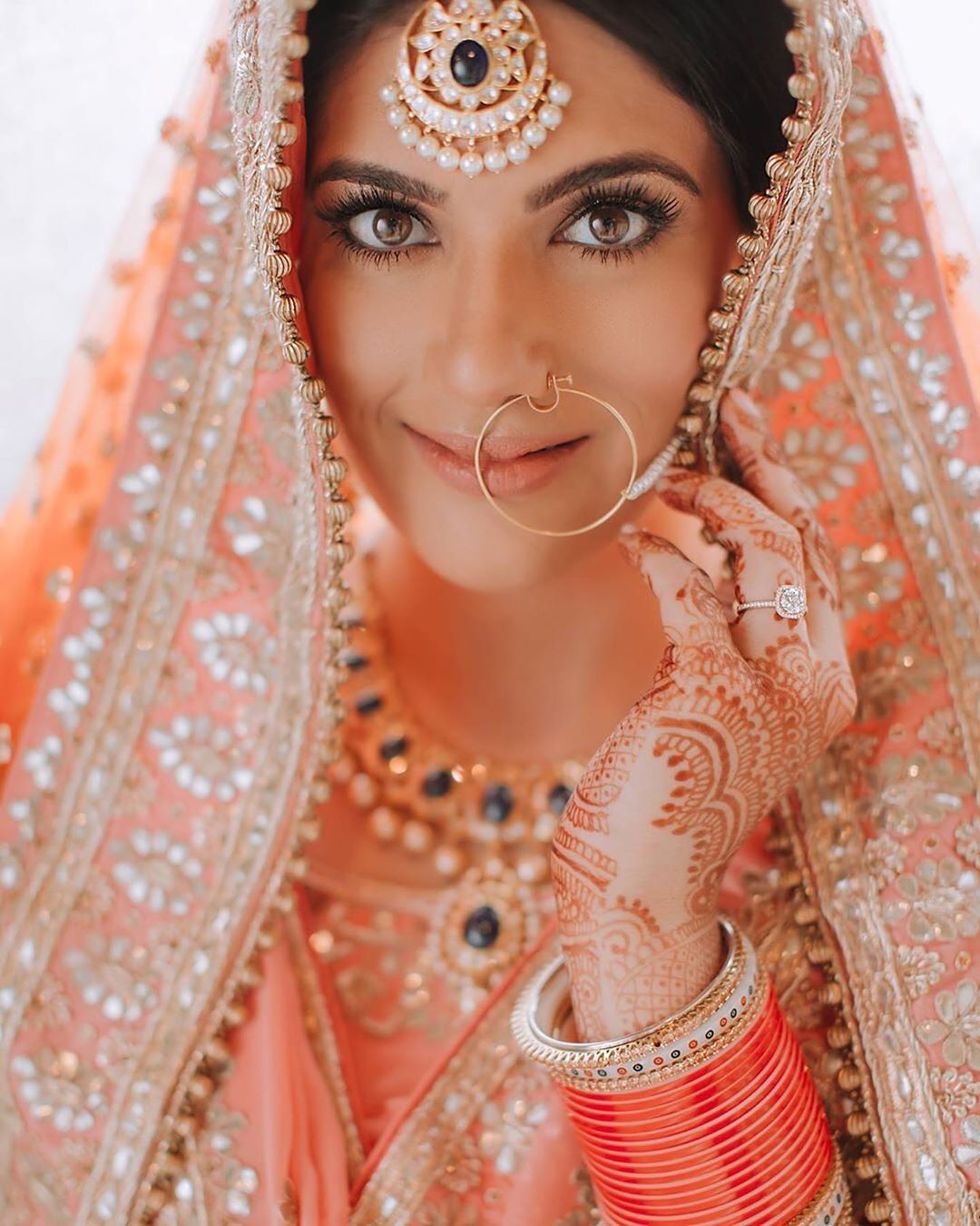eye makeup look, bridal makeup