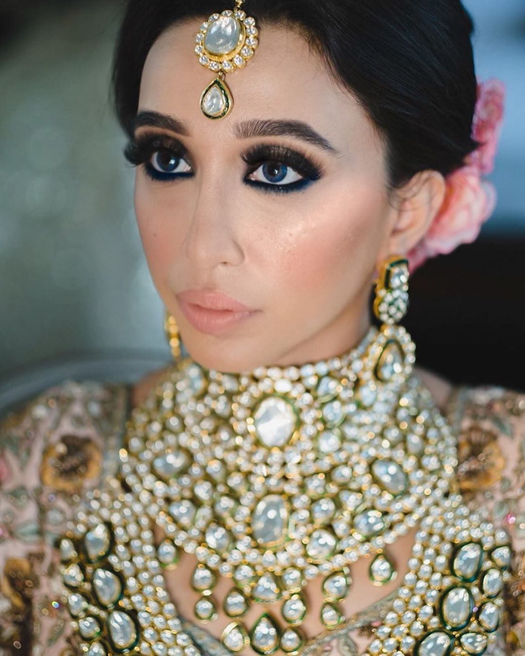 monsoon bride makeup look