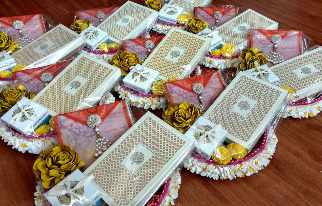 Wedding Invite Hampers