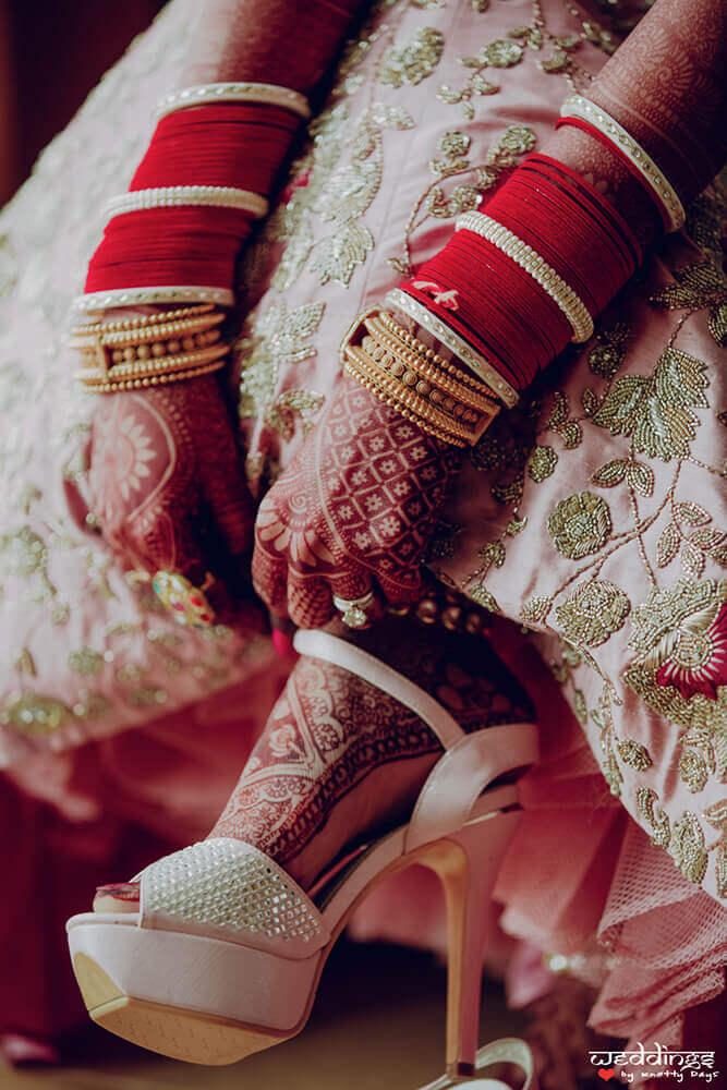 bridal sandals trends 2019