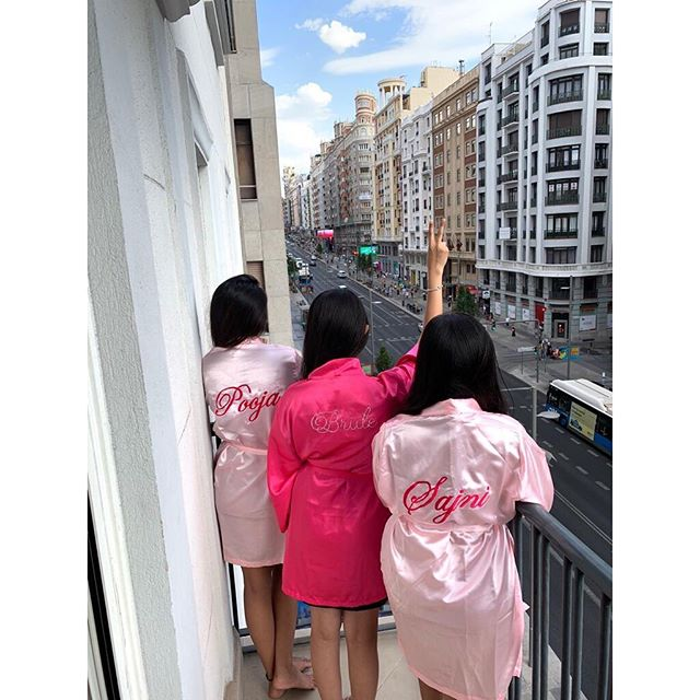 bridesmaid robes