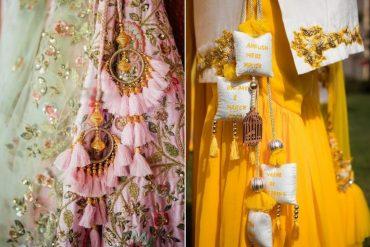Latkan Designs For Bridal Lehenga