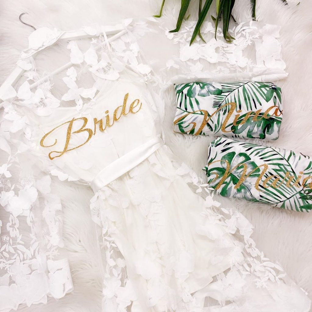 Not Sure Where To Buy Bridesmaid Bridal Robes Fret Not