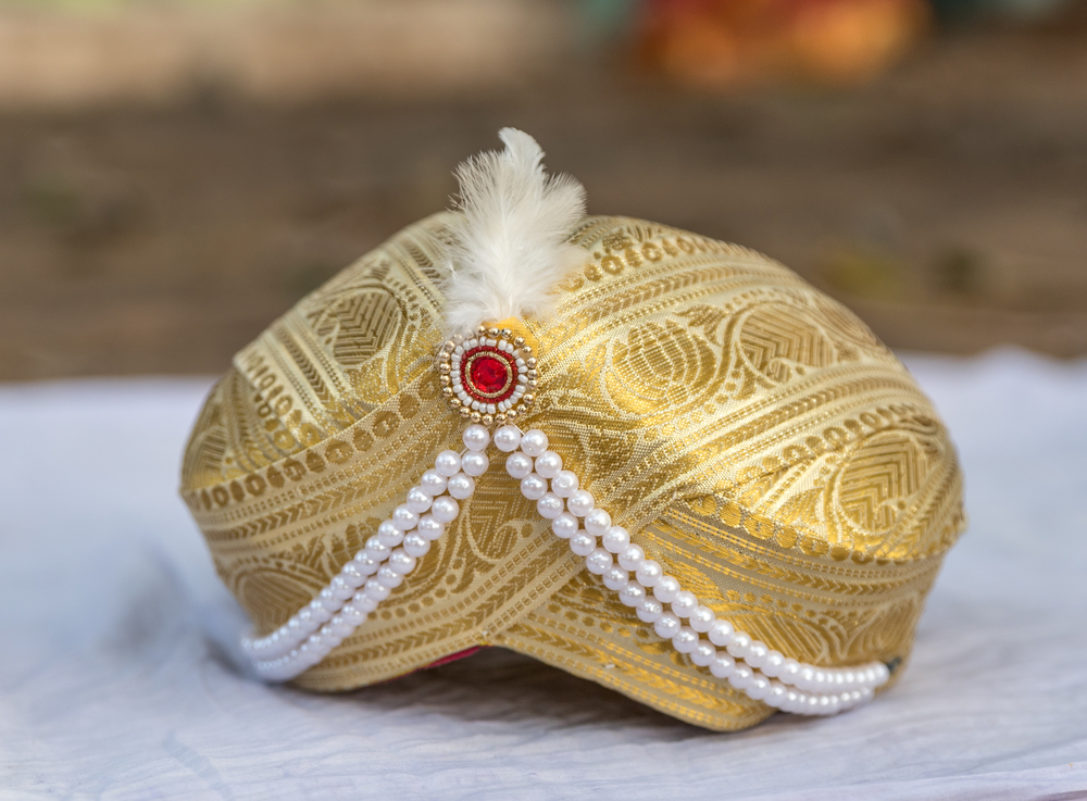 kalgi, groom jewellery
