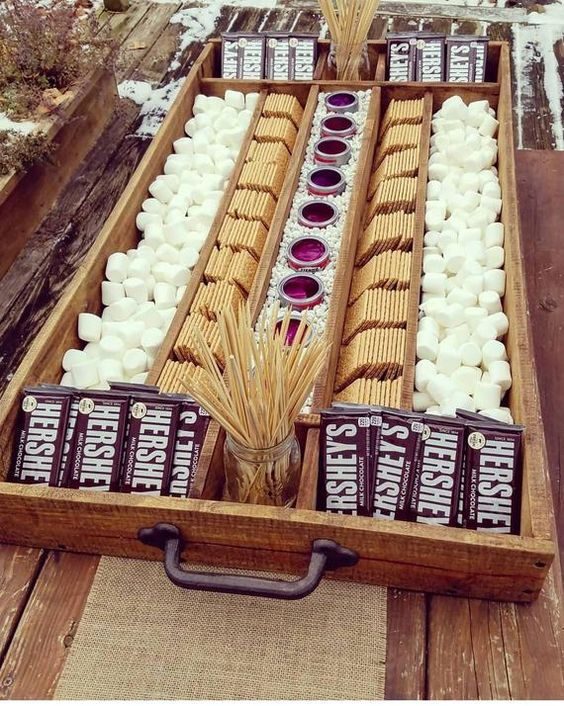 Food Trends For Winter Weddings