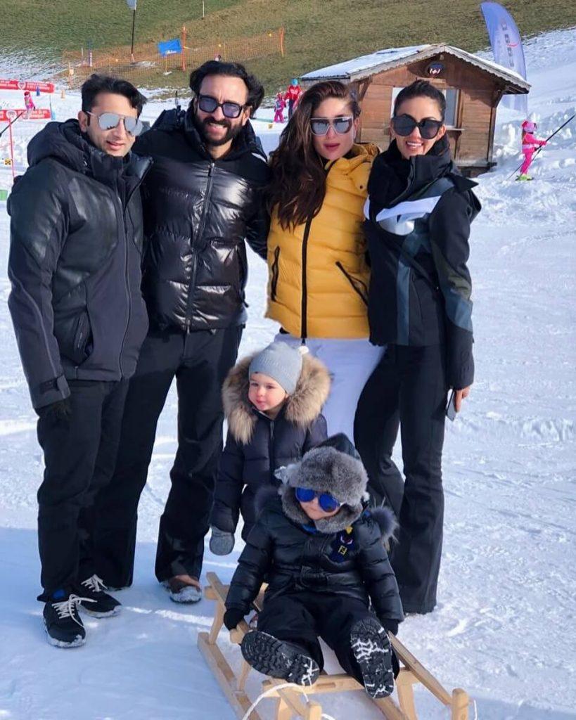 Bollywood star's holiday destinations