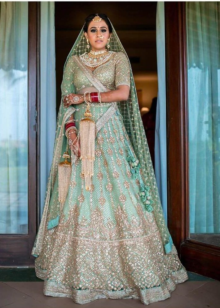 bridal offbeat lehengas