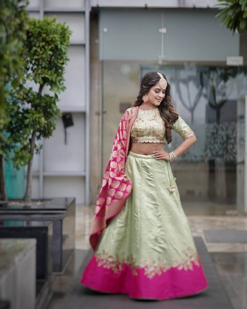 Light Work Lehenga