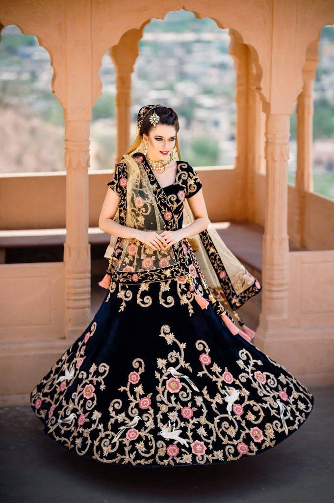 bridal wear, bridal lehenga