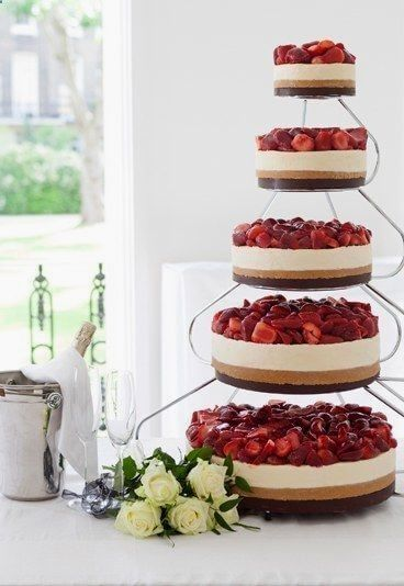 Strawberries And Cheesecakes