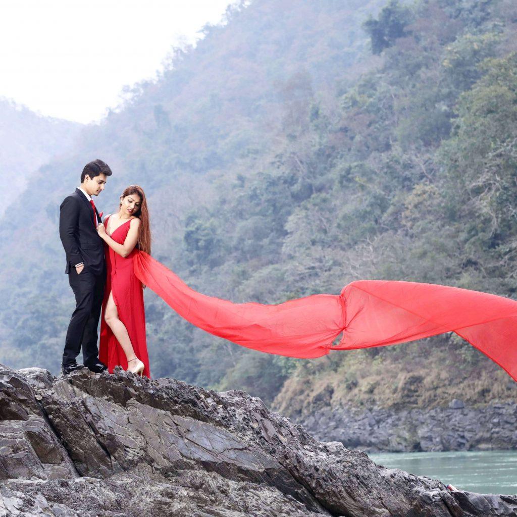 prewedding shoot in Rishikesh