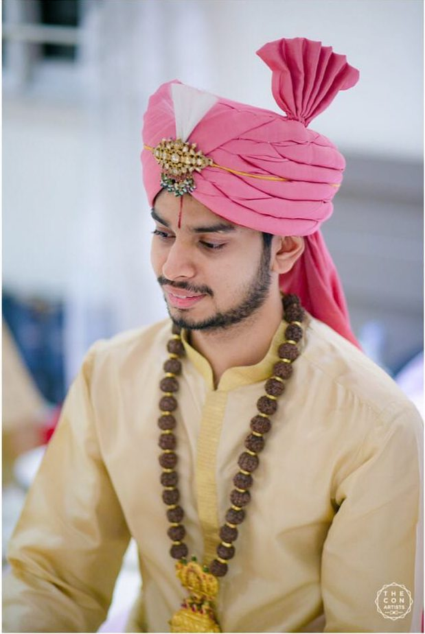 groom jewellery styling
