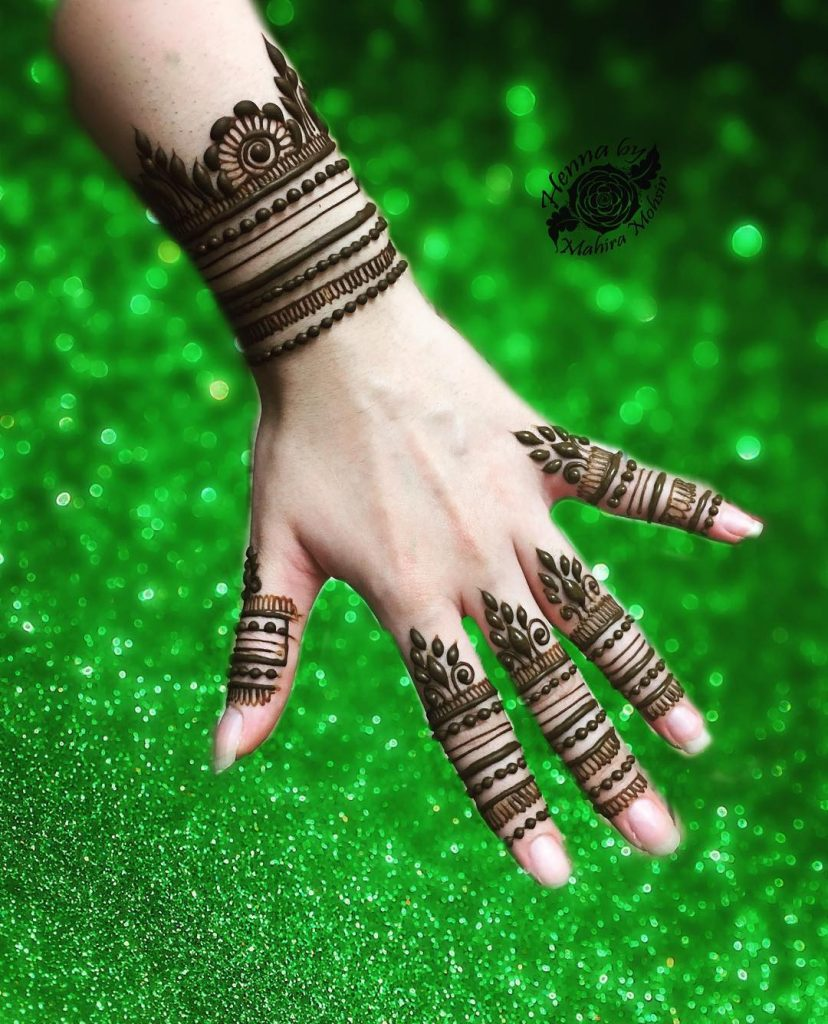 mehendi designs for bridesmaids