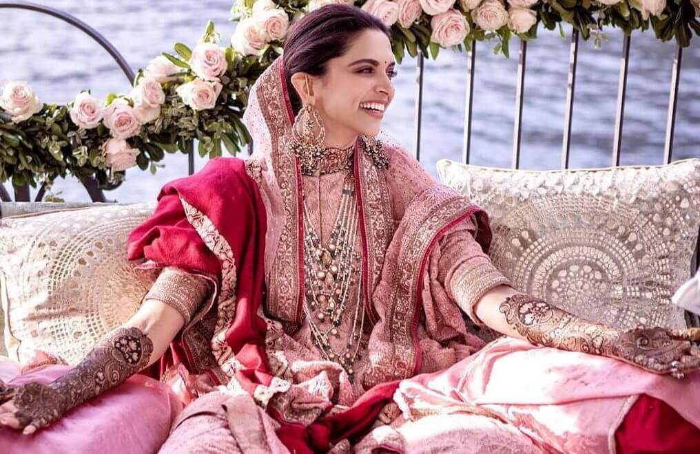 deepika wedding look