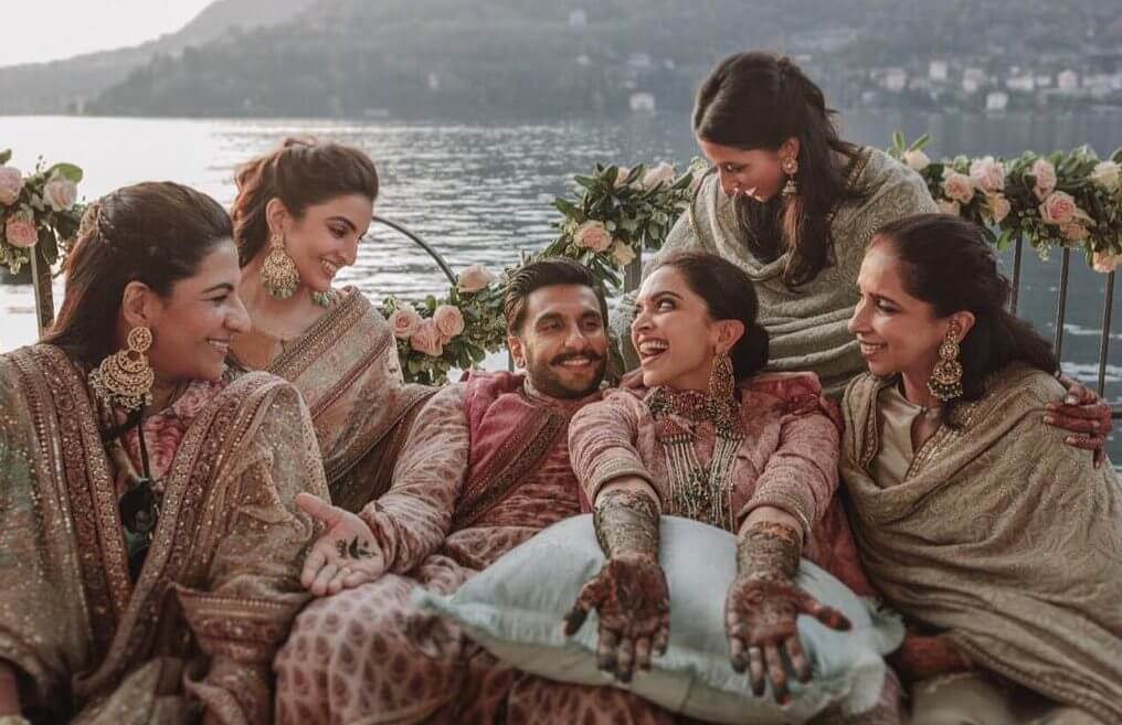 deepveer wedding in Italy