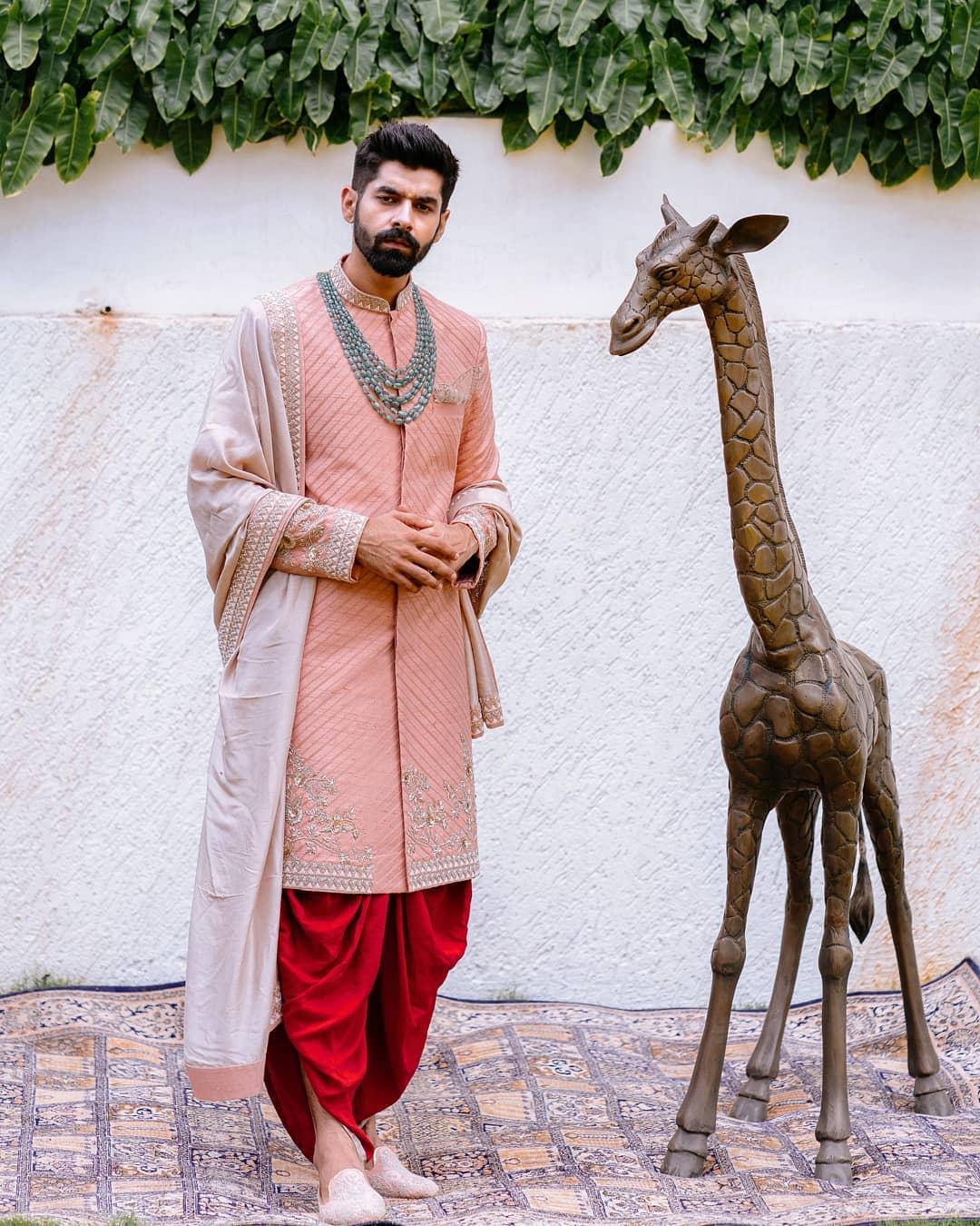 groom sherwani