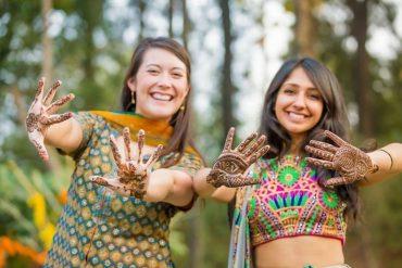 mehendi design for bridesmaids