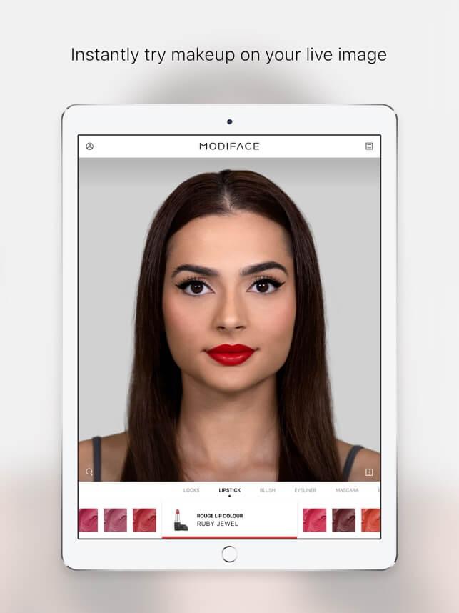 Modi Face app,bridal makeup apps