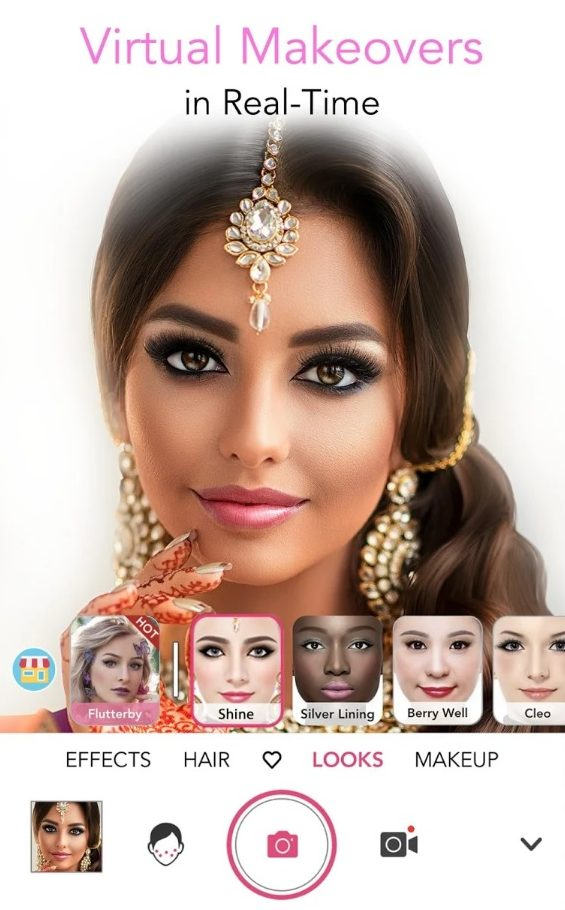 bridal makeup apps