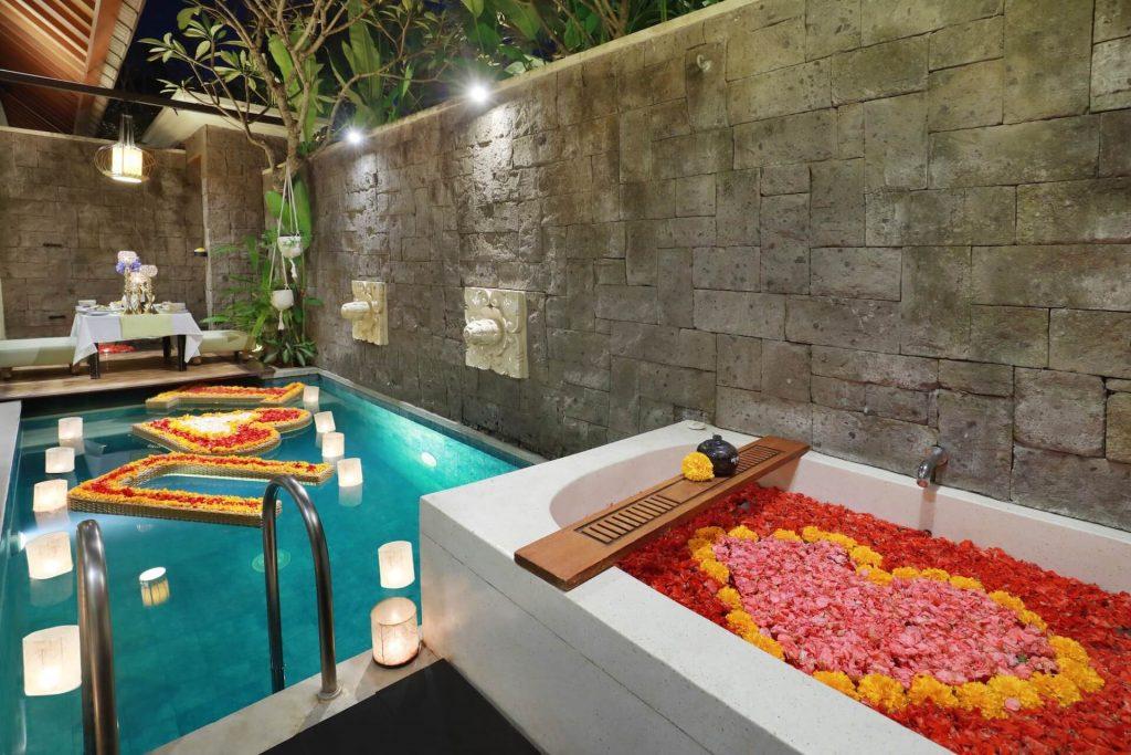 pool villas in Bali