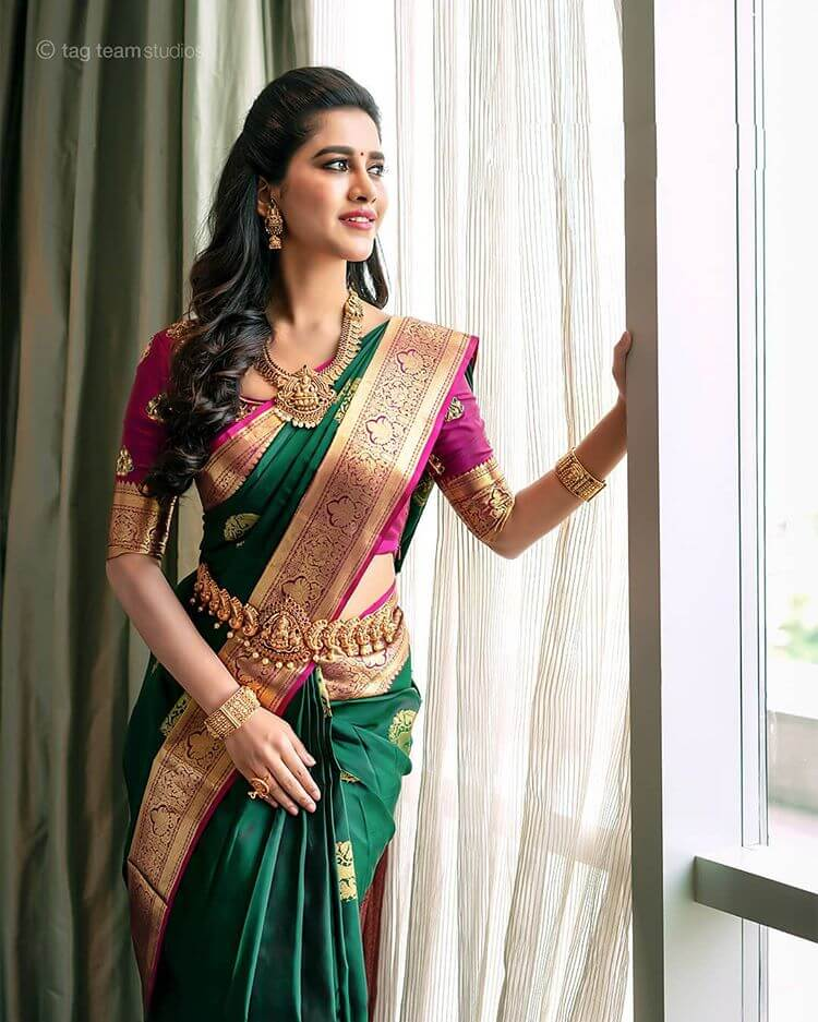 Kanjeevaram Saree Draping Ideas