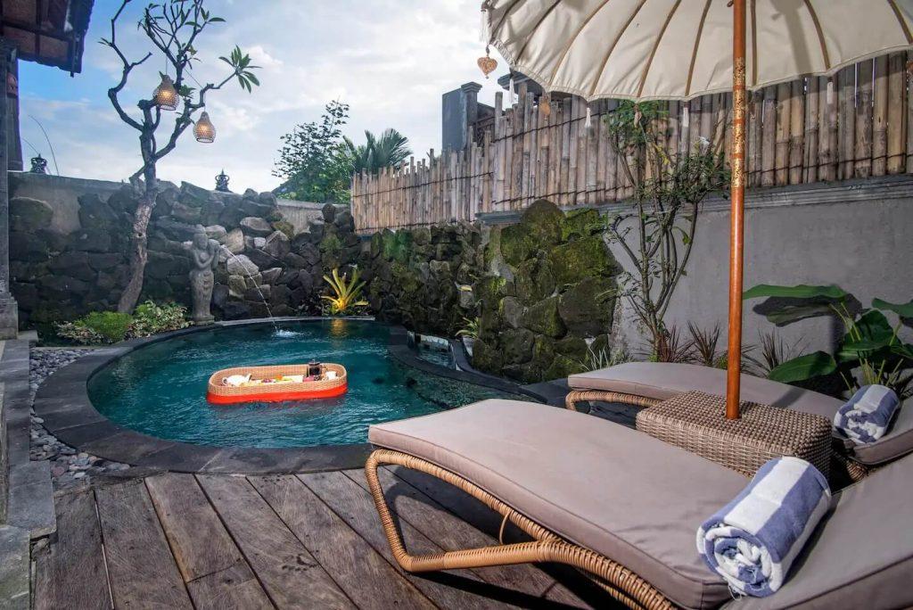honeymoon villas in bali