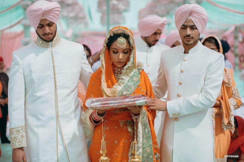 Brides In Salwar Kameez