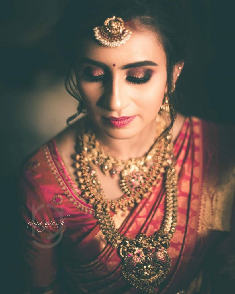 Eye Makeup,south Indian bridal trends