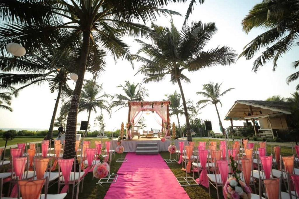 wedding decorators in goa